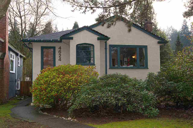 4624 W 15TH AVENUE - Point Grey House/Single Family for sale, 3 Bedrooms (R2036824) #1