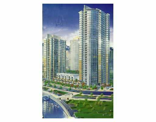 # 601 1067 MARINASIDE CR - Yaletown Apartment/Condo for sale, 1 Bedroom (V526063) #1