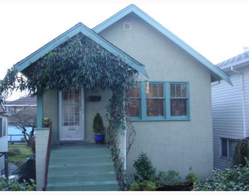 2238 E 4TH AV - Grandview Woodland House/Single Family for sale, 3 Bedrooms (V683429) #1