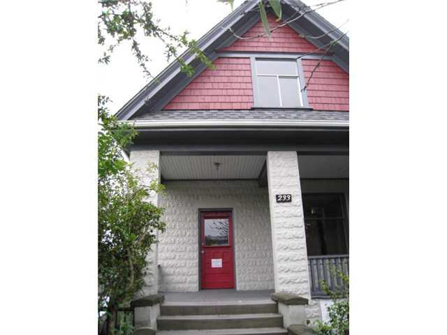 233 W 6TH AV - False Creek House/Single Family for sale, 3 Bedrooms (V841546) #1