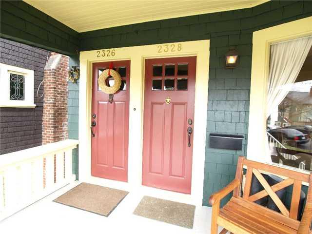 2328 BALACLAVA ST - Kitsilano House/Single Family for sale, 4 Bedrooms (V875065) #1
