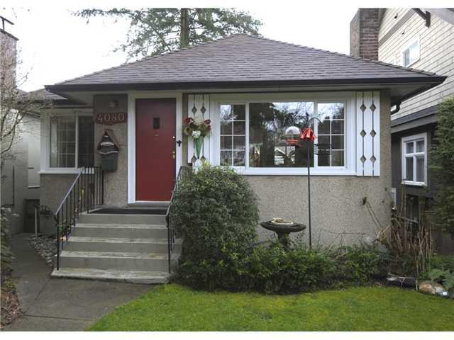4080 W 35TH AV - Dunbar House/Single Family for sale, 2 Bedrooms (V938171) #1