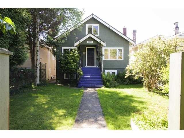 2989 WATERLOO ST  VANCOUVER  - Kitsilano House/Single Family for sale, 5 Bedrooms (V1065716) #1