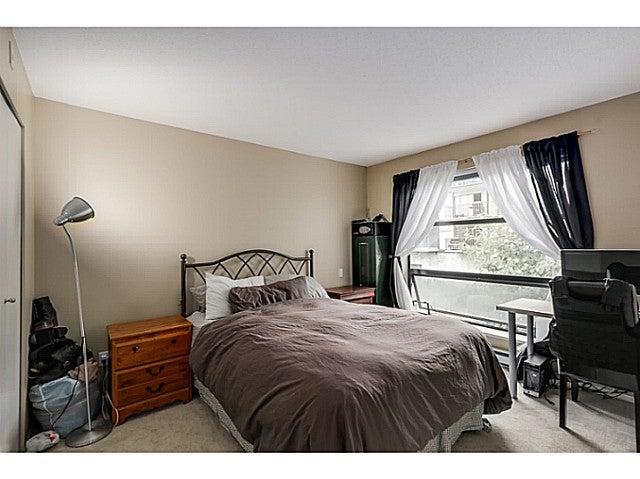 Master bedroom with walk-in closet.