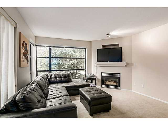 Spacious living room fit for a large sectional.