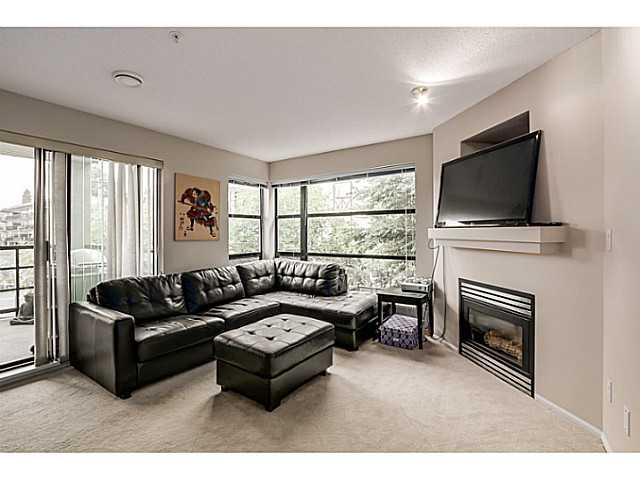 Gas fireplace included in maintenance fee.