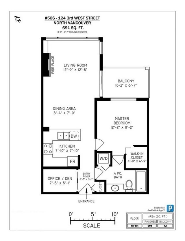 506 124 W 3RD STREET - Lower Lonsdale Apartment/Condo for sale, 1 Bedroom (R2335113) #16