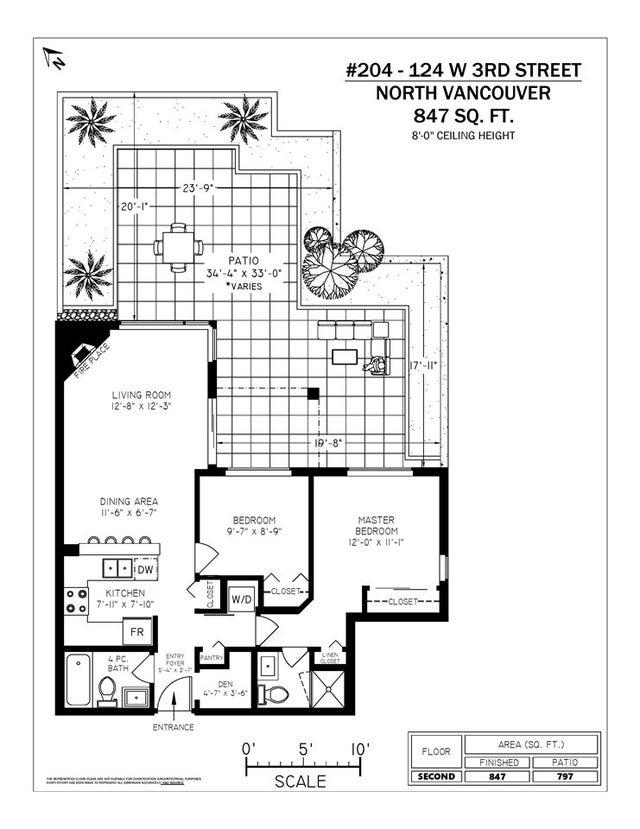 204 124 W 3RD STREET - Lower Lonsdale Apartment/Condo for sale, 2 Bedrooms (R2362493) #20