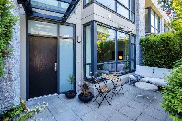 6076 CHANCELLOR MEWS - University VW Townhouse for sale, 2 Bedrooms (R2494126) #2