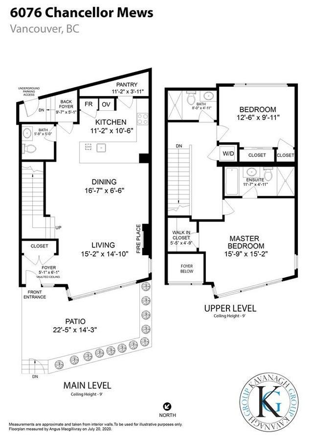 6076 CHANCELLOR MEWS - University VW Townhouse for sale, 2 Bedrooms (R2494126) #40