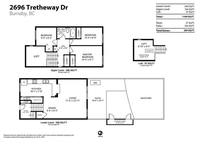2696 TRETHEWAY DRIVE - Montecito Townhouse for sale, 3 Bedrooms (R2514412) #19