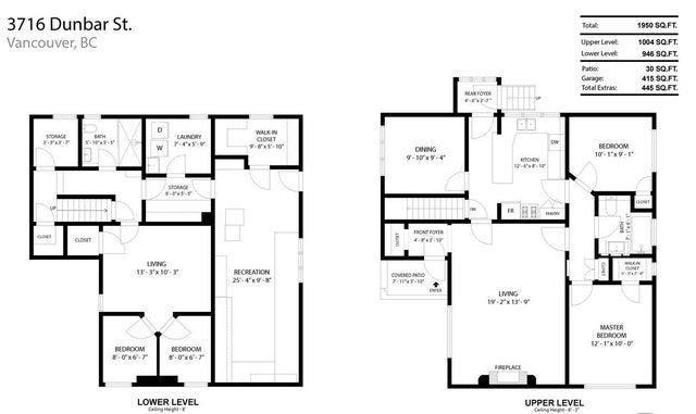 3716 DUNBAR STREET - Dunbar House/Single Family for sale, 4 Bedrooms (R2516057) #9