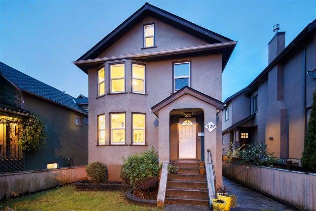 529 E 11TH AVENUE - Mount Pleasant VE House/Single Family for sale, 5 Bedrooms (R2519329) #1