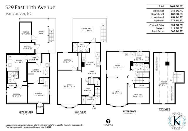 529 E 11TH AVENUE - Mount Pleasant VE House/Single Family for sale, 5 Bedrooms (R2519329) #38