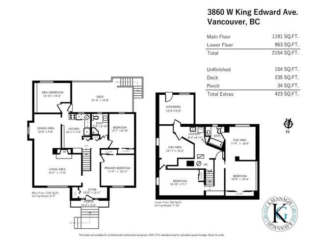 3860 W KING EDWARD AVENUE - Dunbar House/Single Family for sale, 6 Bedrooms (R2562766) #20