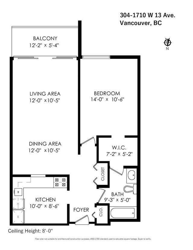 304 1710 W 13TH AVENUE - Fairview VW Apartment/Condo for sale, 1 Bedroom (R2569738) #23