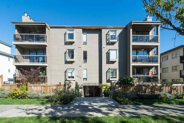 102 1875 W 8TH AVENUE - Kitsilano Apartment/Condo for sale, 1 Bedroom (R2112220)