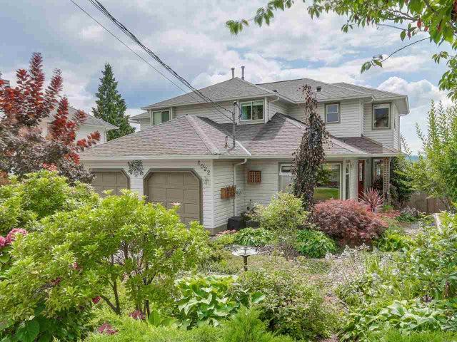 1022 DANSEY AVENUE - Central Coquitlam 1/2 Duplex for sale, 3 Bedrooms (R2099304)
