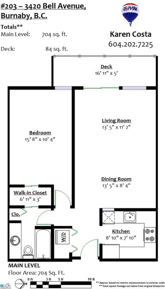 203 3420 BELL AVENUE - Sullivan Heights Apartment/Condo for sale, 1 Bedroom (R2196212) #19