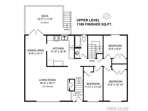 3977 Cedarwood St - SE Lambrick Park Single Family Detached for sale, 5 Bedrooms (353211) #20