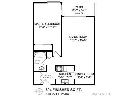 103 1870 McKenzie Ave - SE Lambrick Park Condo Apartment for sale, 1 Bedroom (355921) #20