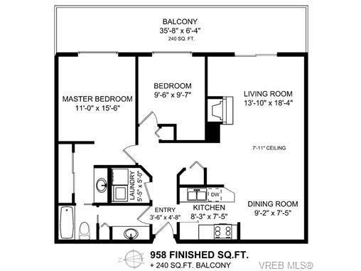 308 1436 Harrison St - Vi Downtown Condo Apartment for sale, 2 Bedrooms (356044) #20