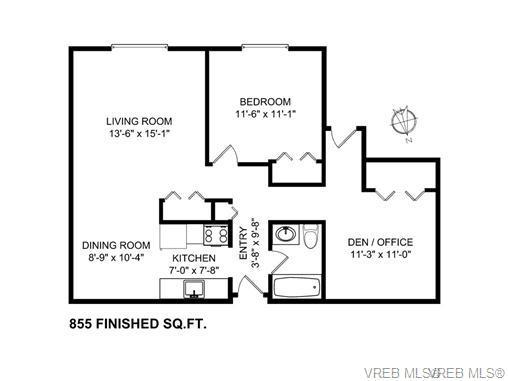 103 3235 Quadra St - SE Maplewood Condo Apartment for sale, 1 Bedroom (365323) #3