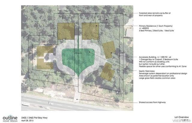 5455 Pat Bay Hwy - SE Cordova Bay Unimproved Land for sale(374646) #1