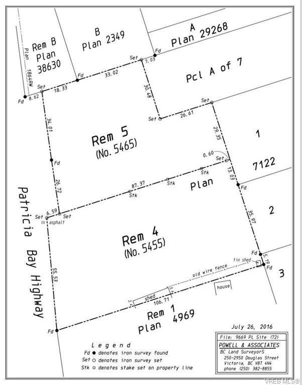 5455 Pat Bay Hwy - SE Cordova Bay Unimproved Land for sale(374646) #3