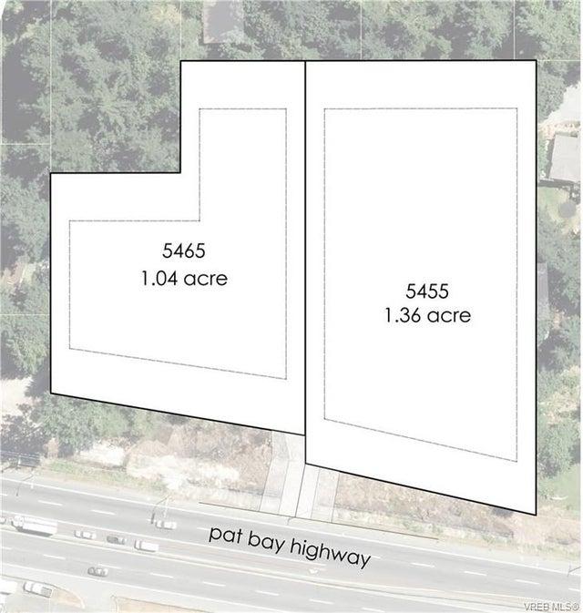 5455 Pat Bay Hwy - SE Cordova Bay Unimproved Land for sale(374646) #4