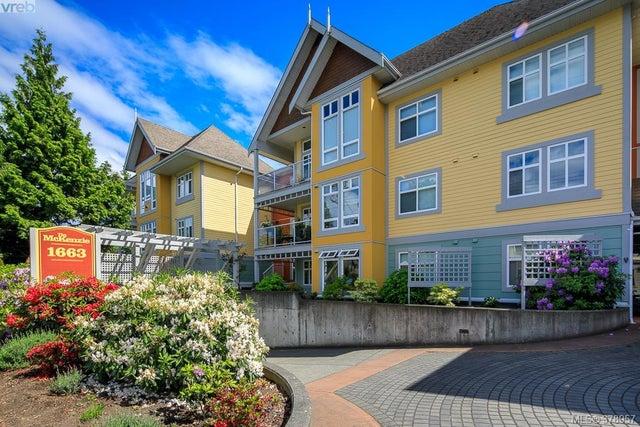 105 1663 McKenzie Ave - SE Mt Tolmie Condo Apartment for sale, 2 Bedrooms (378957) #1