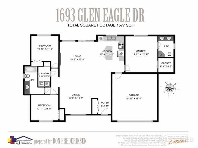 1693 GLEN EAGLE DRIVE - CR Campbell River West Single Family Detached for sale, 3 Bedrooms (383367) #4