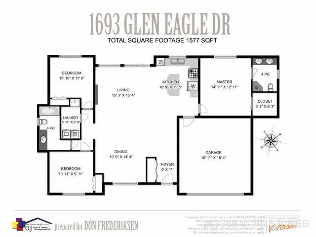 1693 GLEN EAGLE DRIVE - CR Campbell River West Single Family Detached for sale, 3 Bedrooms (393389) #4