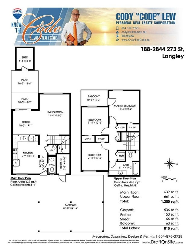 188 2844 273 STREET - Aldergrove Langley Townhouse for sale, 3 Bedrooms (R2399445) #20