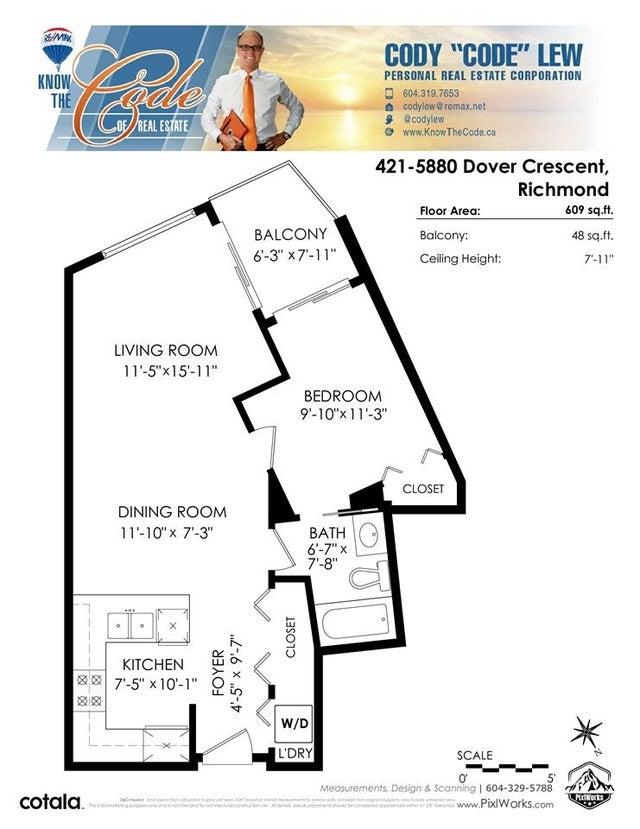 421 5880 DOVER CRESCENT - Riverdale RI Apartment/Condo for sale, 1 Bedroom (R2532709) #39