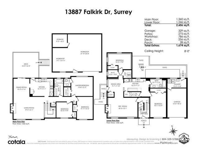13887 FALKIRK DRIVE - Bear Creek Green Timbers House/Single Family for sale, 5 Bedrooms (R2537770) #40