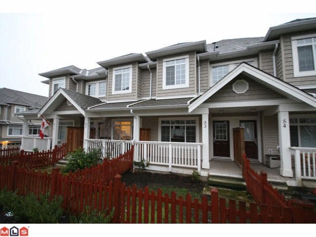 # 53 6852 193rd St - Clayton Townhouse for sale, 3 Bedrooms (F1027832) #1