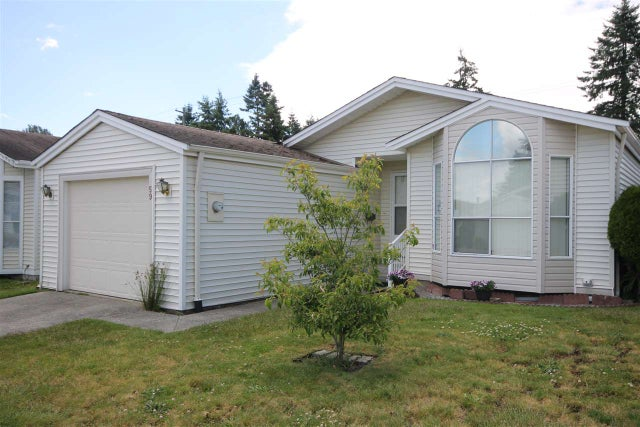 59 2345 CRANLEY DRIVE - King George Corridor Manufactured with Land for sale, 2 Bedrooms (R2178006)
