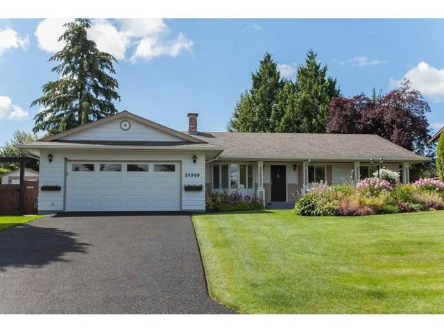 26960 33 AVENUE - Aldergrove Langley House/Single Family for sale, 3 Bedrooms (R2093754)