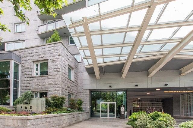 407 560 CARDERO STREET - Coal Harbour Apartment/Condo for sale, 1 Bedroom (R2078394) #16