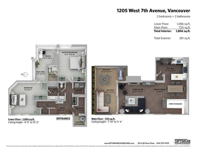 1205 W 7TH AVENUE - Fairview VW Townhouse for sale, 2 Bedrooms (R2470073) #37