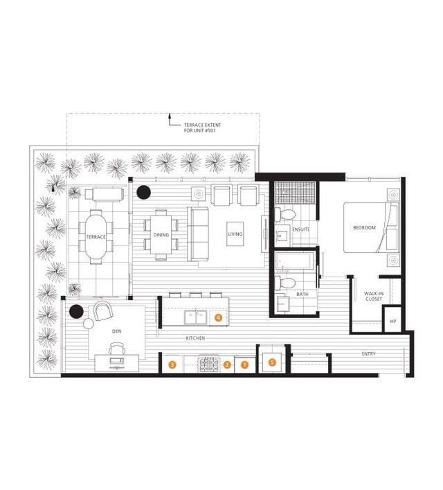 501 768 ARTHUR ERICKSON PLACE - Park Royal Apartment/Condo for sale(R2473411) #36