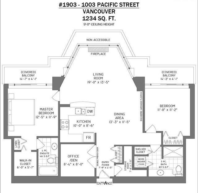 1903 1003 PACIFIC STREET - West End VW Apartment/Condo for sale, 2 Bedrooms (R2526969) #21