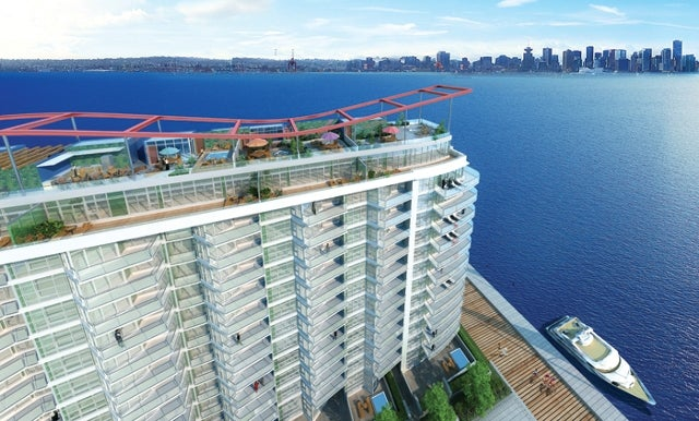 107 199 VICTORY SHIP WAY - Lower Lonsdale Apartment/Condo for sale, 1 Bedroom (R2017709) #1