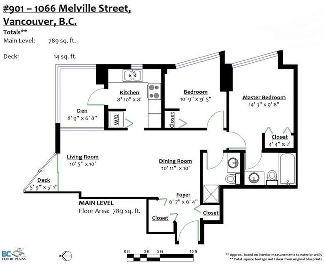 901 1166 MELVILLE STREET - Coal Harbour Apartment/Condo for sale, 2 Bedrooms (R2221404) #18