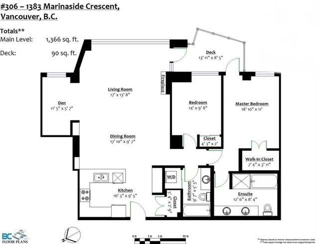 306 1383 MARINASIDE CRESCENT - Yaletown Apartment/Condo for sale, 2 Bedrooms (R2255726) #19