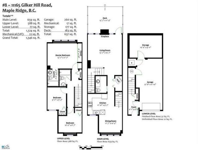 8 11165 GILKER HILL ROAD - Cottonwood MR Other for sale, 3 Bedrooms (R2361402) #19