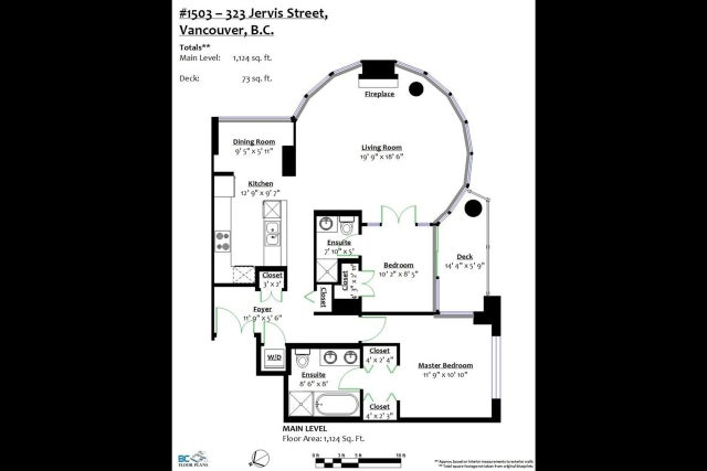 1503 323 JERVIS STREET - Coal Harbour Apartment/Condo for sale, 2 Bedrooms (R2368580) #20