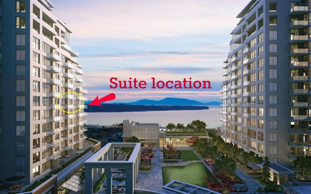 910 1441 JOHNSTON STREET - White Rock Apartment/Condo for sale, 2 Bedrooms (R2494958) #1