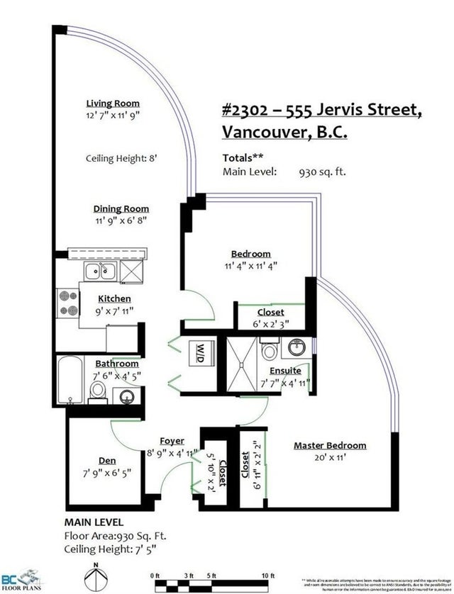 2302 555 JERVIS STREET - Coal Harbour Apartment/Condo for sale, 2 Bedrooms (R2495368) #22